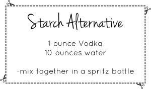 Starch Alternative Recipe